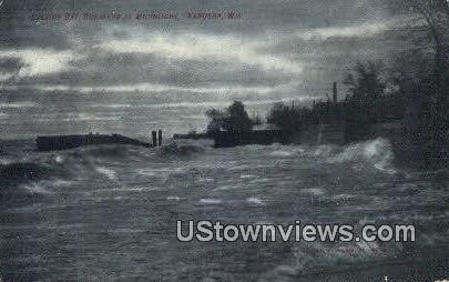 Calkins Bay - Kenosha, Wisconsin WI Postcard