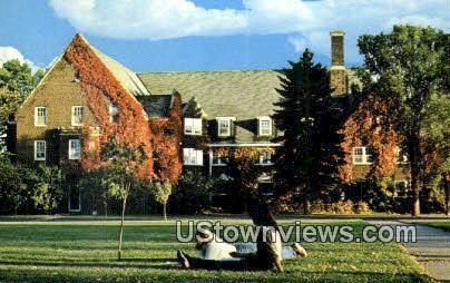 Memorial Hall, Northland College - Ashland, Wisconsin WI Postcard