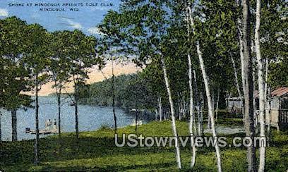 Minocqua Heights Golf Club - Wisconsin WI Postcard