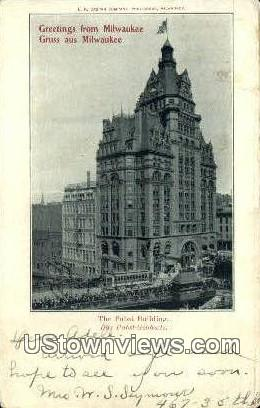 Pabst Building - MIlwaukee, Wisconsin WI Postcard