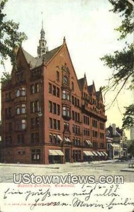 Masonic Building - MIlwaukee, Wisconsin WI Postcard
