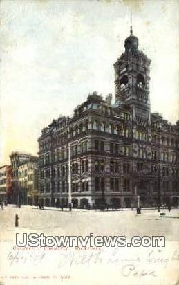 Chamber of Commerce - MIlwaukee, Wisconsin WI Postcard