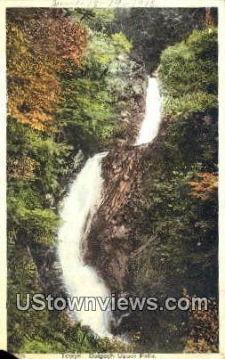 Towyn - Dolgoch Upper Falls, Wisconsin WI Postcard