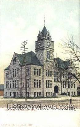 City Hall - Janesville, Wisconsin WI Postcard