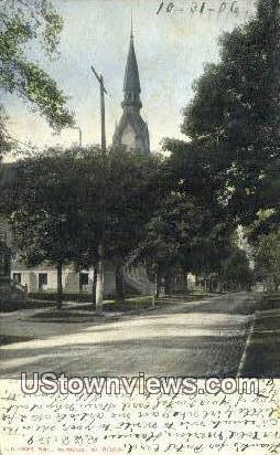 Methodsit Episcopal Church - Appleton, Wisconsin WI Postcard