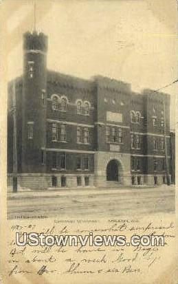 Company G Armory - Appleton, Wisconsin WI Postcard