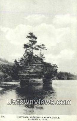 Instand, Wisconsin River Dells - Kilbourn Postcard