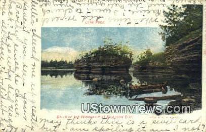 Sugar Bowl, Hotel Crandall - Kilbourn City, Wisconsin WI Postcard