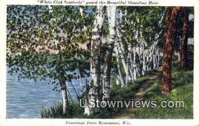 Shoreline - Kewaunee, Wisconsin WI Postcard