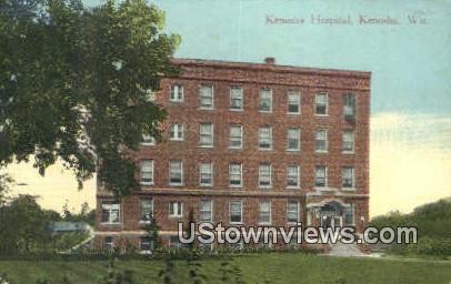 Kenosha Hospital - Wisconsin WI Postcard