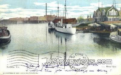 River View - Kenosha, Wisconsin WI Postcard