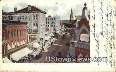 Main Street - La Crosse, Wisconsin WI Postcard