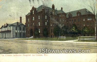 La Crosse Lutherian Hospital - Wisconsin WI Postcard