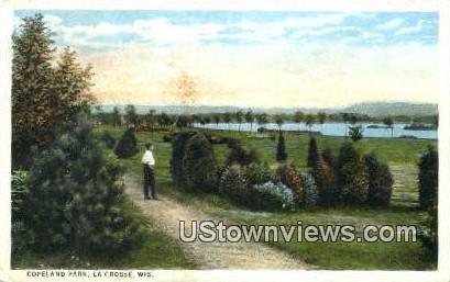 Copeland Park - La Crosse, Wisconsin WI Postcard