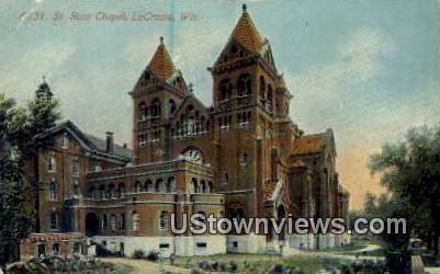 St Rose Chapel - La Crosse, Wisconsin WI Postcard