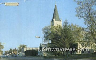 Milltown Lutheran Cchurch - Wisconsin WI Postcard