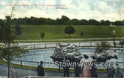 Summer Home, Sa Lions, Washingon Park - MIlwaukee, Wisconsin WI Postcard
