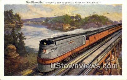 The Hiawatha - Wisconsin Dells Postcards, Wisconsin WI Postcard