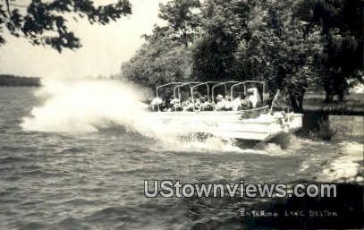 Real Photo - Lake Delton, Wisconsin WI Postcard