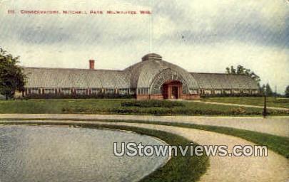Conservatory, Mitchell Park - MIlwaukee, Wisconsin WI Postcard