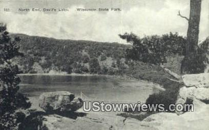 North End, Devil's Lake - Wisconsin State Park Postcards, Wisconsin WI Postcard