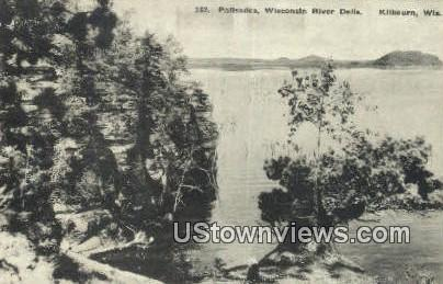 Palisades, Wisconsin River Dells - Kilbourn Postcard