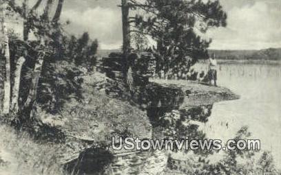 Visor Ledge - Kilbourn, Wisconsin WI Postcard