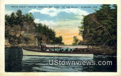 White Ealge, The Jaws - Kilbourn, Wisconsin WI Postcard
