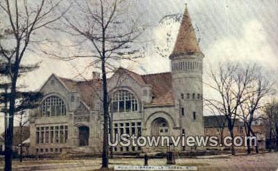 Public Library - La Crosse, Wisconsin WI Postcard