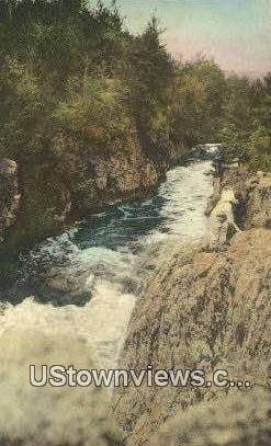 Dells of the Wolf River - Menominee Indian Reservation, Wisconsin WI Postcard