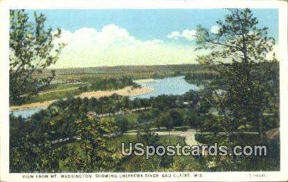 MT Washington - Eau Claire, Wisconsin WI Postcard