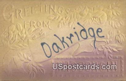 Dakridge, Wis Postcard      ;      Dakridge, Wisconsin