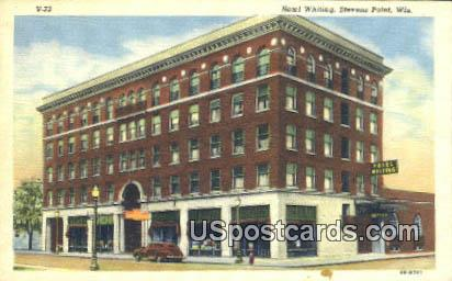 Hotel Whiting - Stevens Point, Wisconsin WI Postcard
