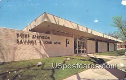 Fort Atkinson Savings & Loan Association - Misc, Wisconsin WI Postcard