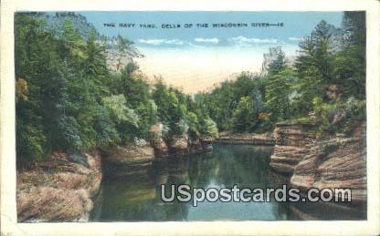 Navy Yard - Dells Of The Wisconsin River Postcards, Wisconsin WI Postcard