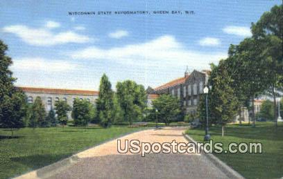Wisconsin State Reformatory - Green Bay Postcard