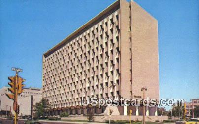 New Wisconsin State Office Building - MIlwaukee Postcard