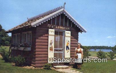 Foundation Park, Lake Ripley - Cambridge, Wisconsin WI Postcard