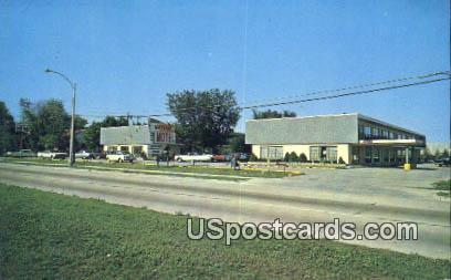 Mayfair Motel - MIlwaukee, Wisconsin WI Postcard