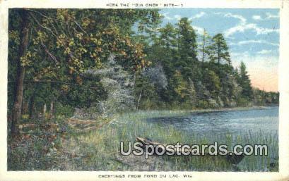 Fond du Lac, WI Postcard      ;      Fond du Lac, Wisconsin