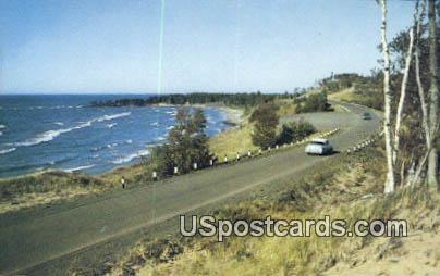 Scenic Highway - Misc, Wisconsin WI Postcard