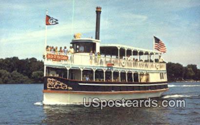 Belle of the Lake - Lake Geneva, Wisconsin WI Postcard