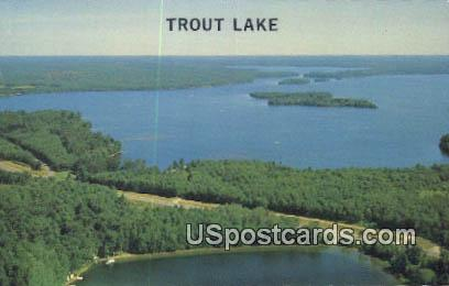 Trout Lake, Wis Postcard      ;      Trout Lake, Wisconsin