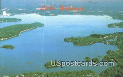 Lake Nokomis - Tomahawk, Wisconsin WI Postcard
