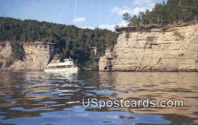 Clipper Winnebago - Dells Of The Wisconsin River Postcards, Wisconsin WI Postcard