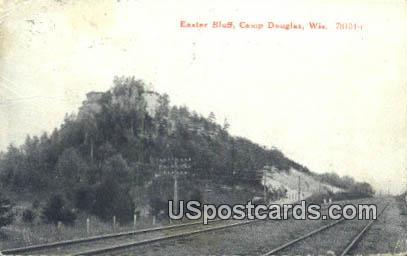 Easter Bluff - Camp Douglas, Wisconsin WI Postcard