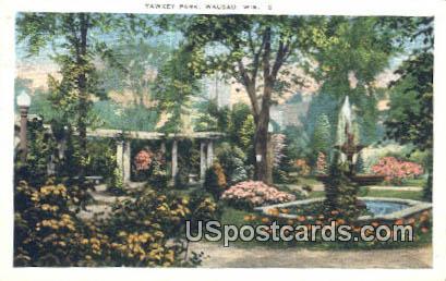 Yawkey Park - Wausau, Wisconsin WI Postcard