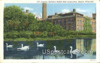 Lagoon, Horlick's Malted Milk Corporation - Racine, Wisconsin WI Postcard