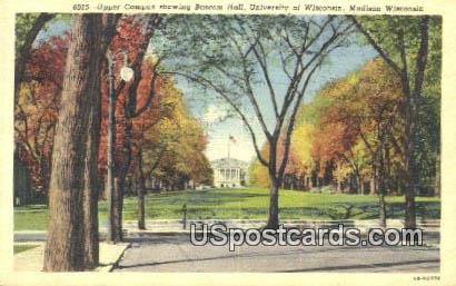Upper Campus, University of Wisconsin - Madison Postcard