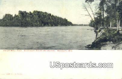 Peter Wll Rock - Necedah, Wisconsin WI Postcard